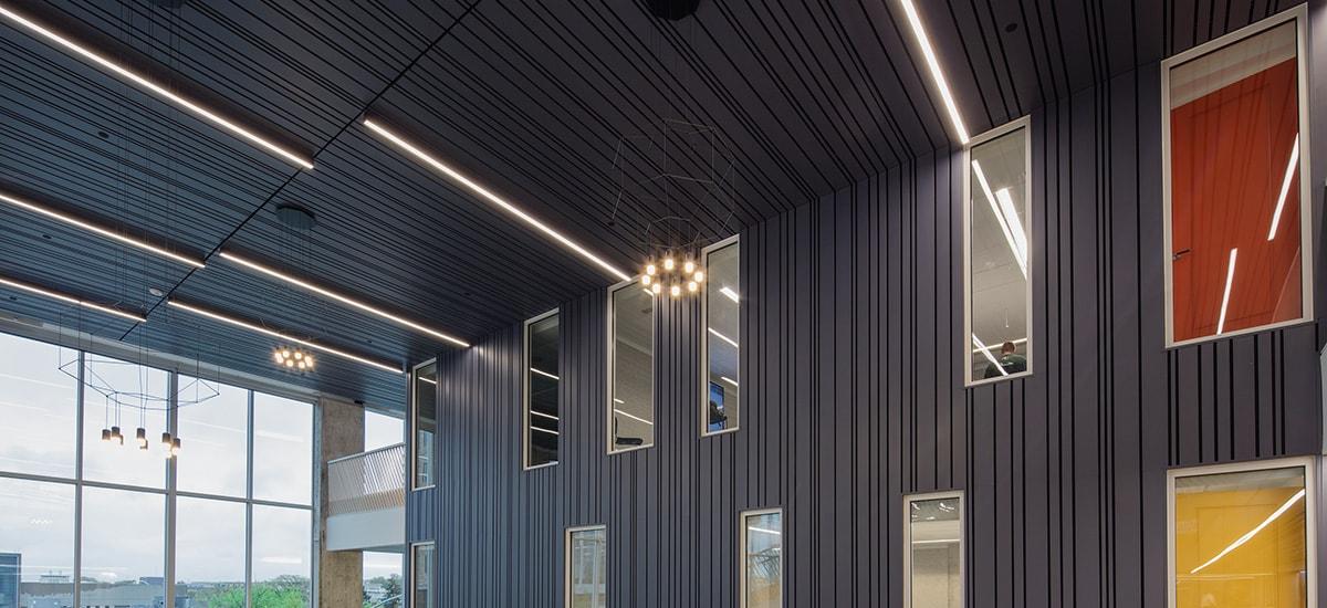 Interior Metal Ceilings By Hunter Douglas