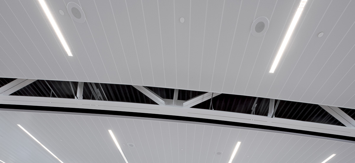 300c L Wide Panel Ceiling